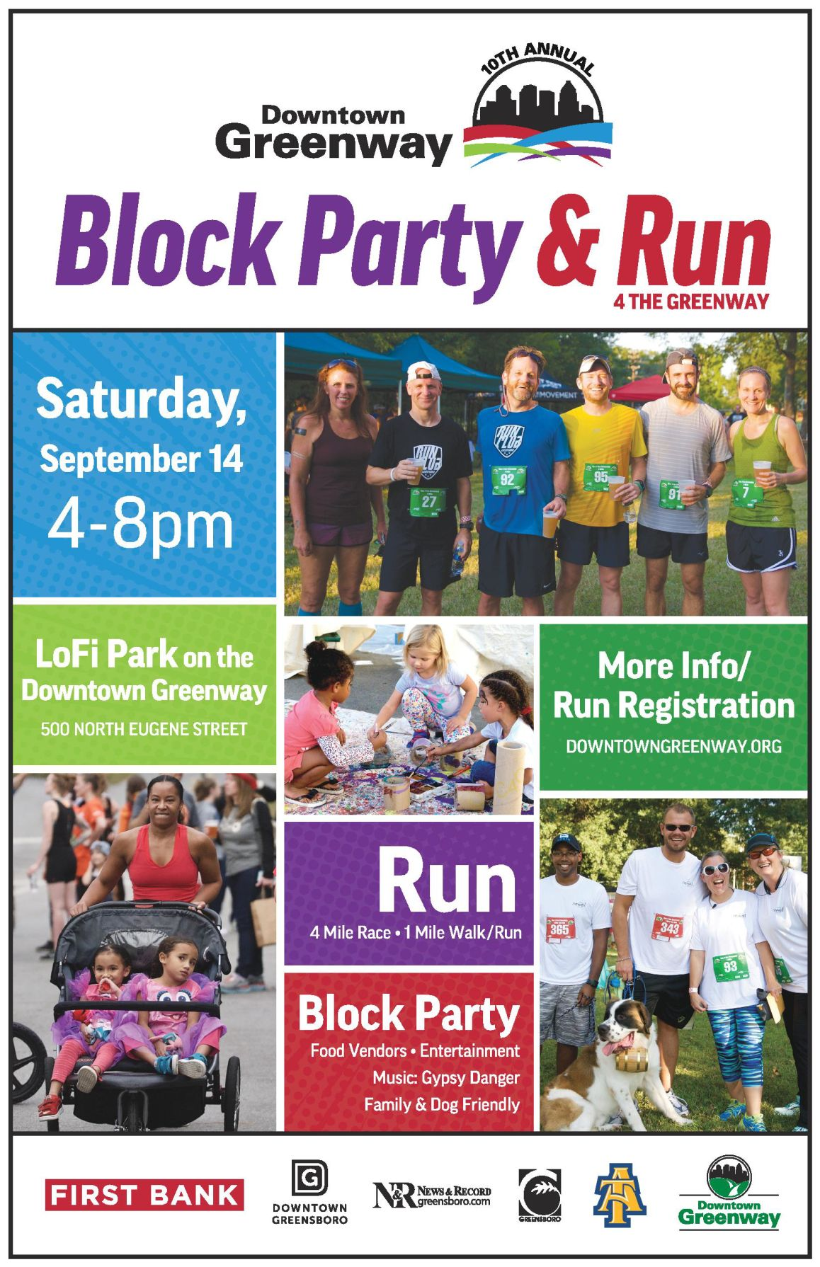 run 4 greenway flyer
