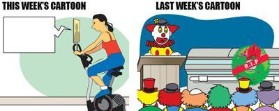 jou_talking-exercise-bike_clown-funeral_011020