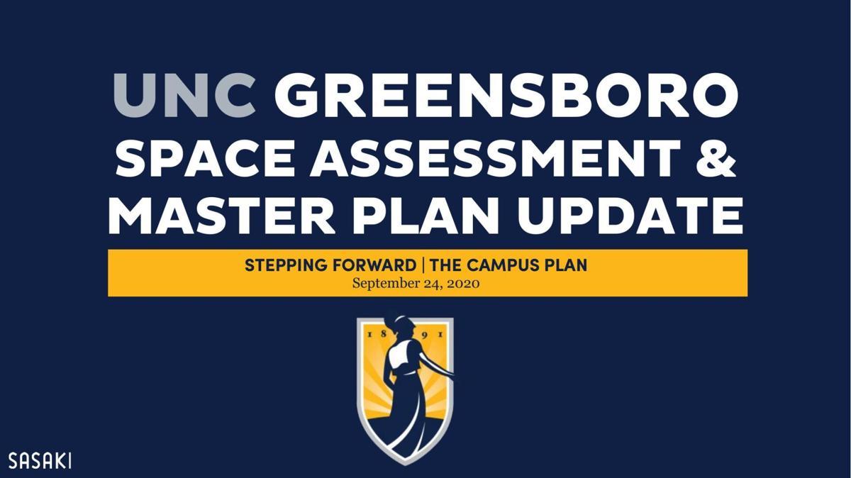 UNCG's 2020 master plan presentation