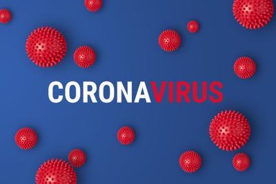 Abstract banner coronavirus COVID-19