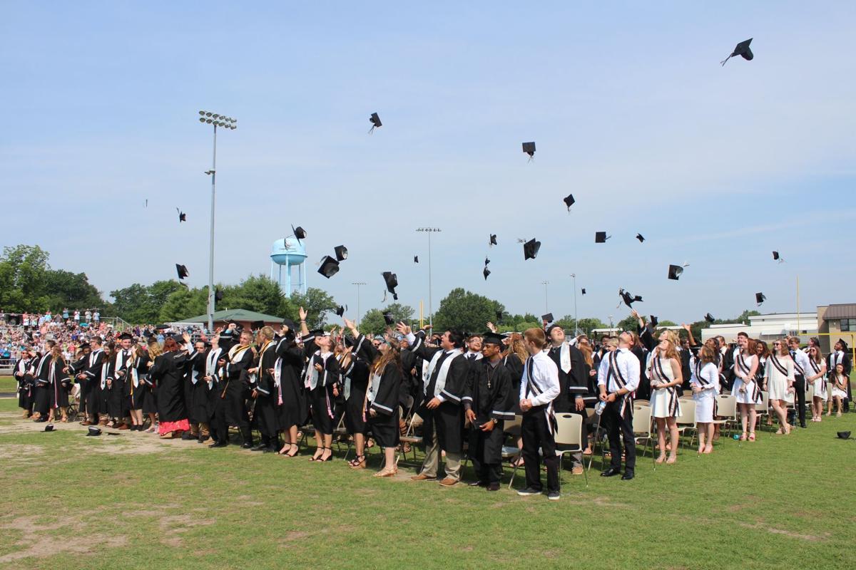 Rockingham County High School graduation
