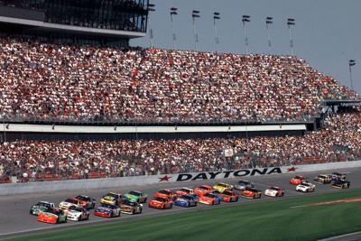 NASCAR-Daytona-Timeline Auto Racing