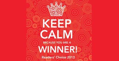 Readers' Choice 2013