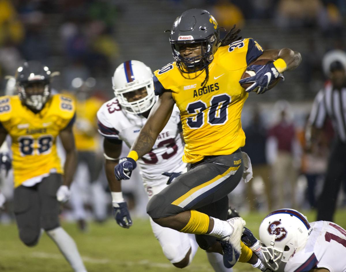 N.C. A&T and South Carolina State football