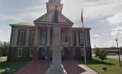 Chatham County Confederate monument