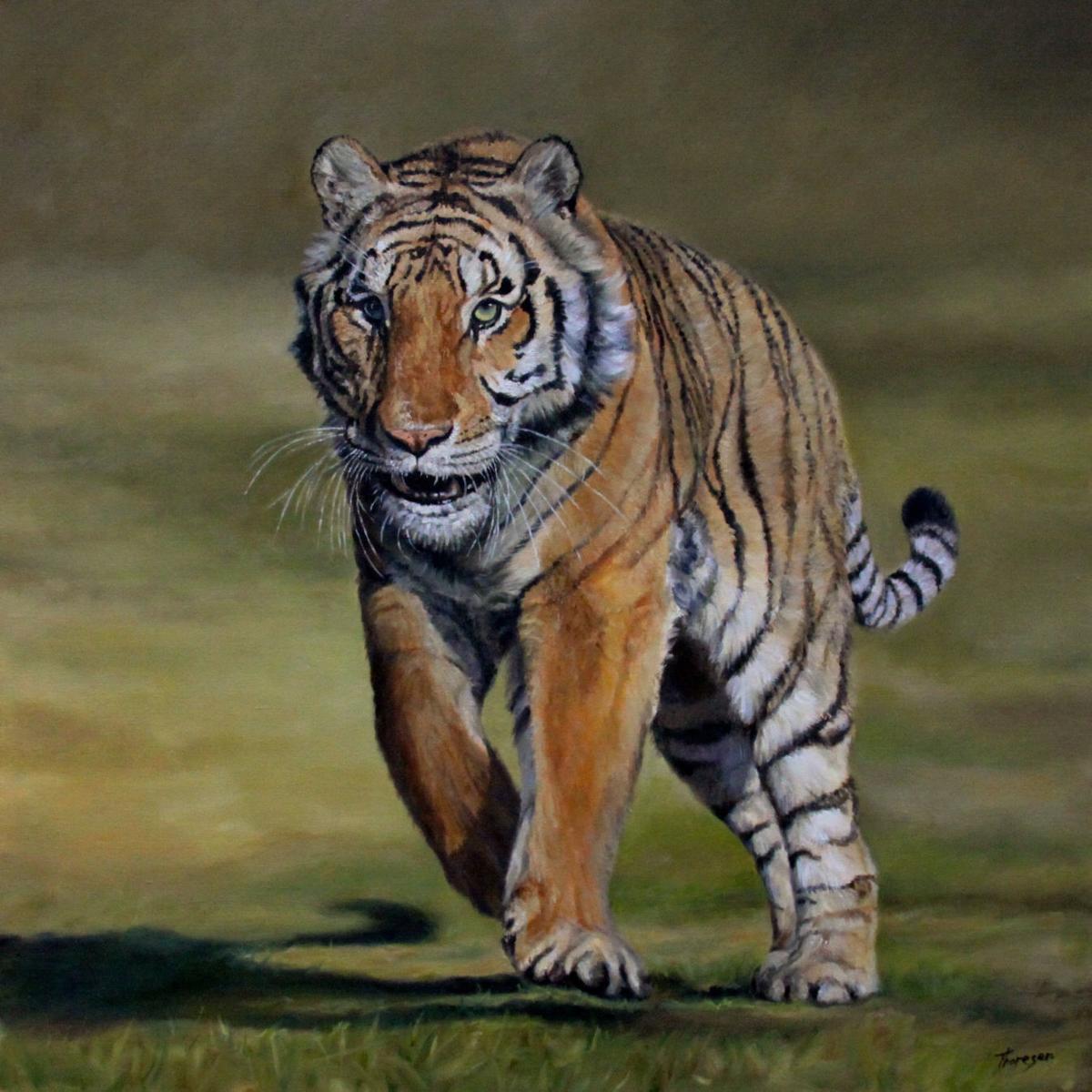 Endangered species - tiger (copy)