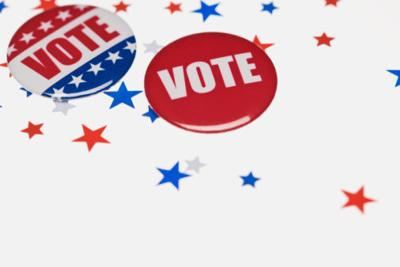 nonpartisan vote buttons election generic