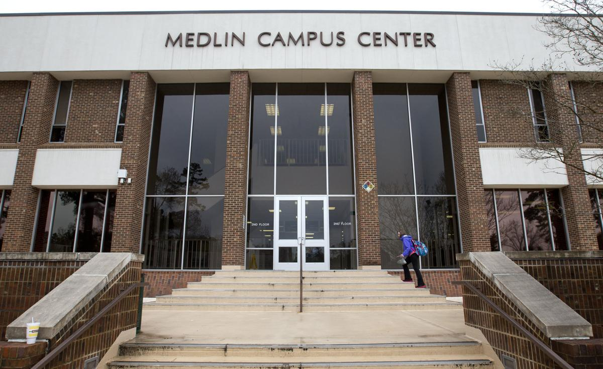 GTCC Medlin Campus Center front door generic
