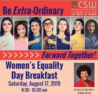 Women's Equality Day Breakfast 2019