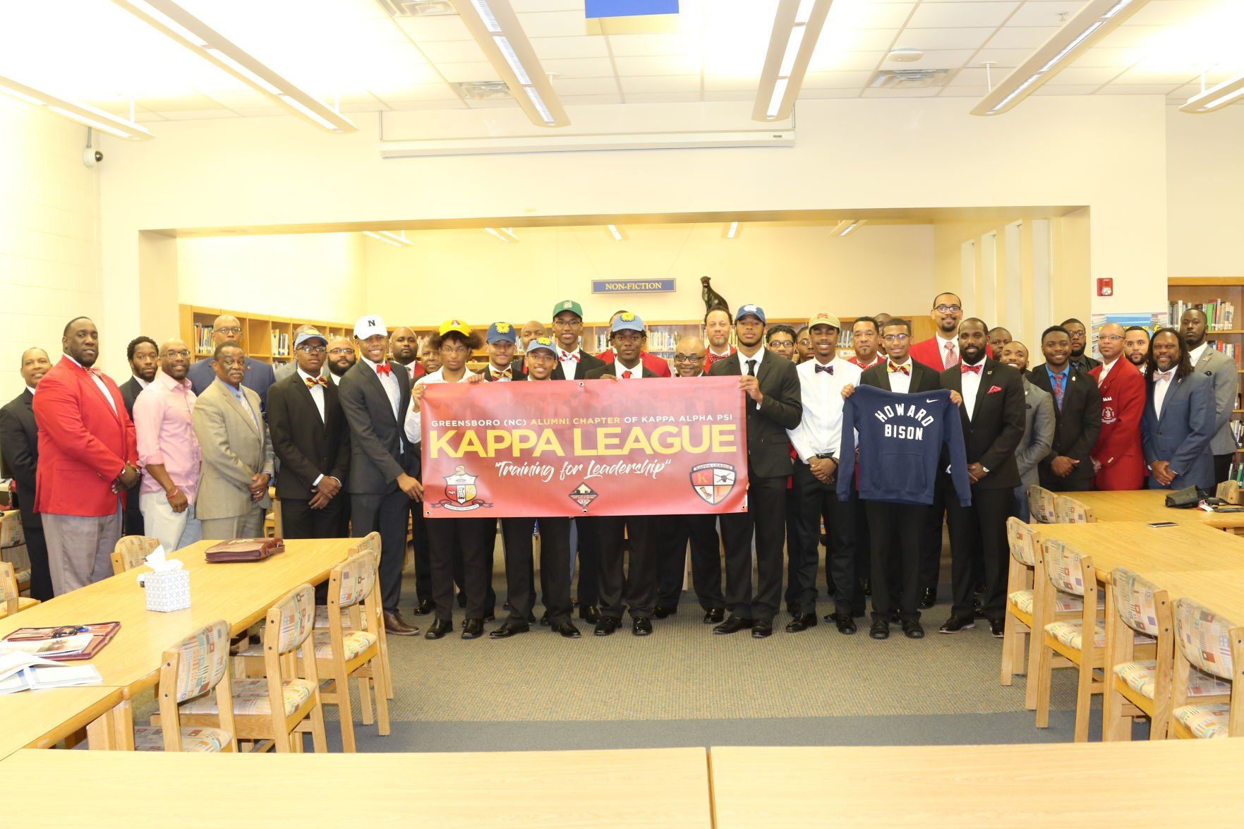 Greensboro Kappa League National College Signing Day