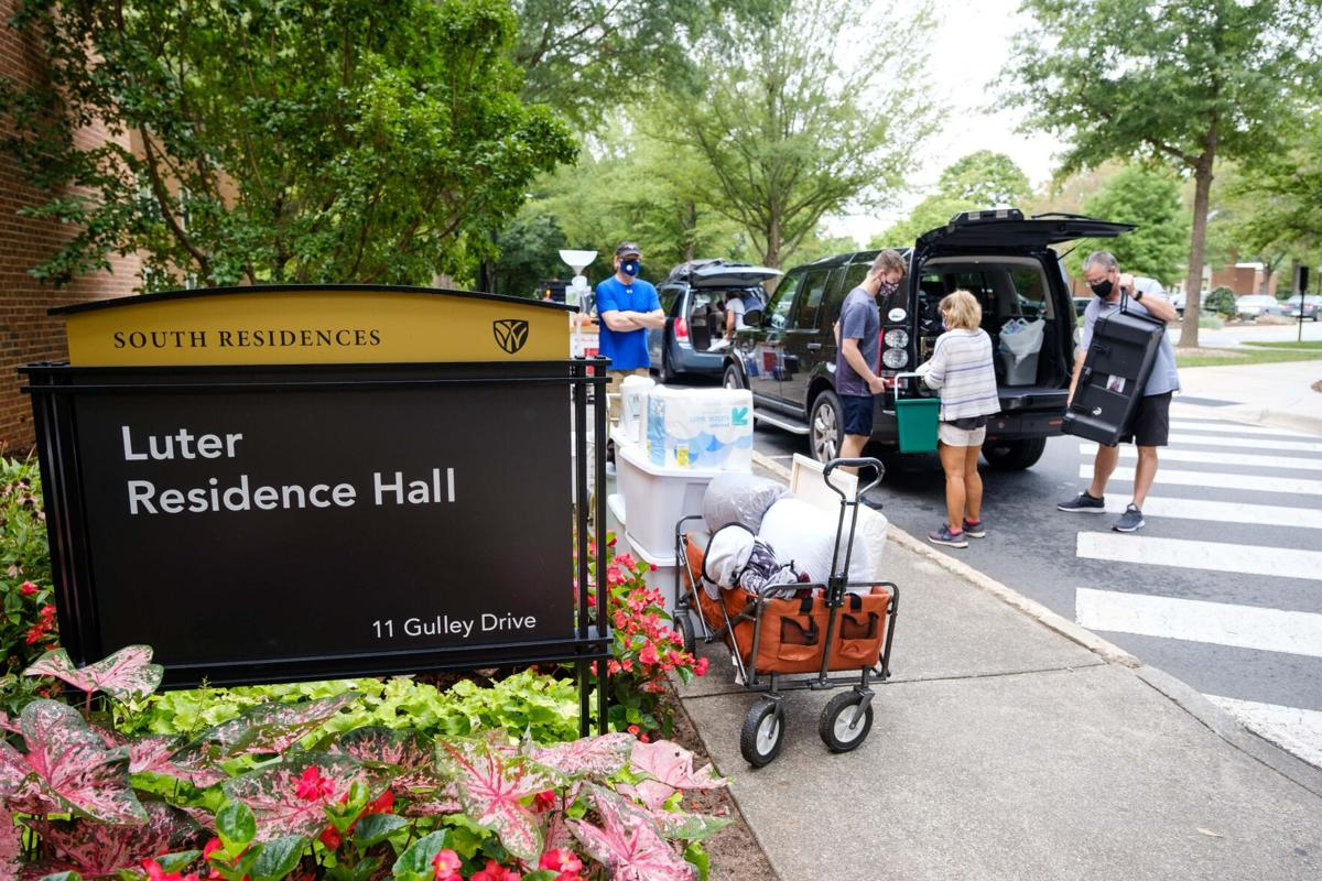 Wake Forest move-in 2020