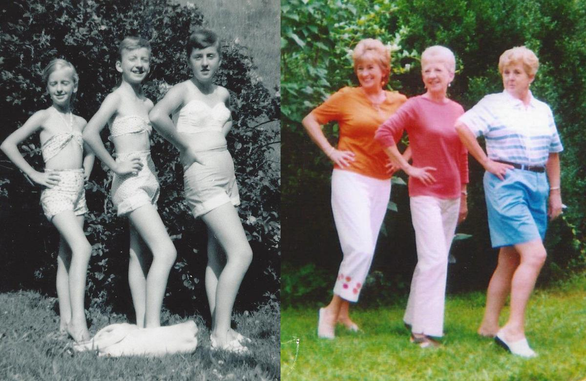 siblings - sisters 1956 and 2006.jpg