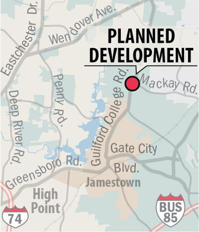 Planned mixed-use development