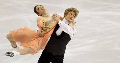 Meryl Davis and Charlie White in 2011 championships