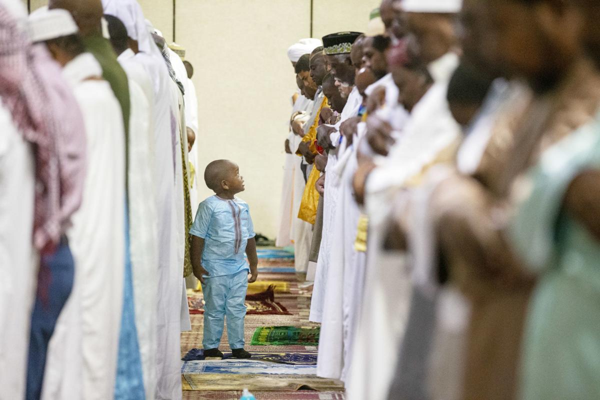 Faithful celebrate Eid al-Adha