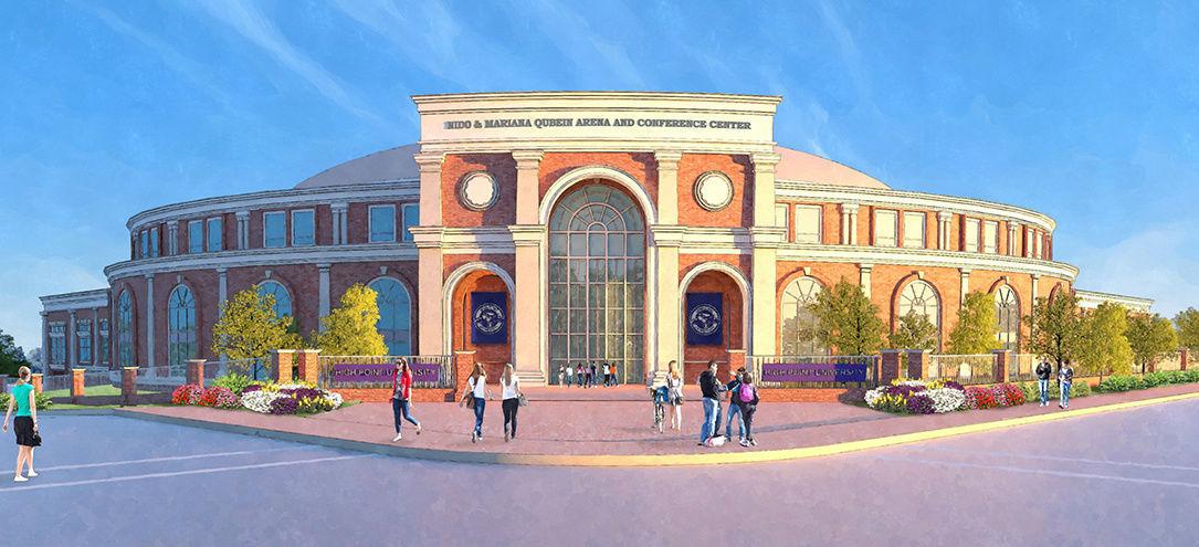 High Point University Qubein Center Basketball Arena