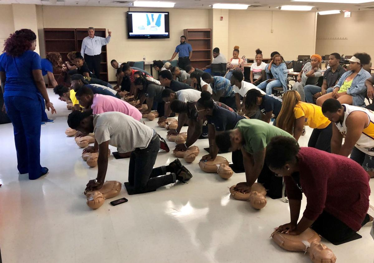 N.C. A&T students learn how to save lives
