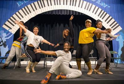 NCAT's Ain't Misbehav' rehearsal (copy) (copy)