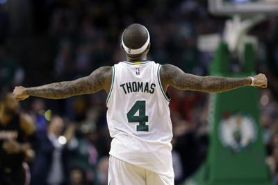 2016: Celtics' Isaiah Thomas scores 29 of his career-high 52 points in fourth quarter to beat Heat