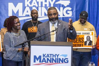 Danny Rogers defeats Guilford County Sheriff BJ Barnes