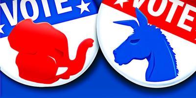 election vote party symbols