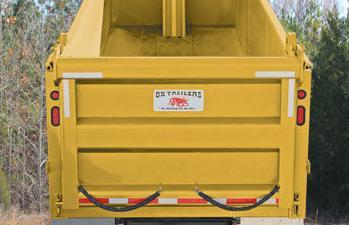 Ox Bodies dump truck