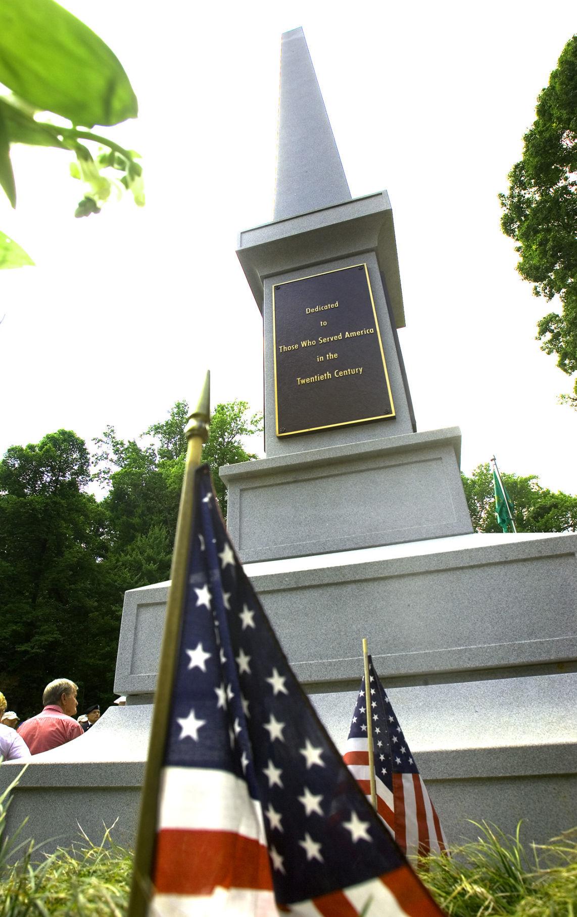 Veterans Memorial at Greensboro Country Park (copy)