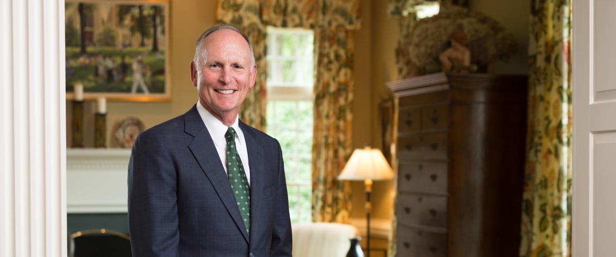UNC-Charlotte Chancellor Philip Dubois
