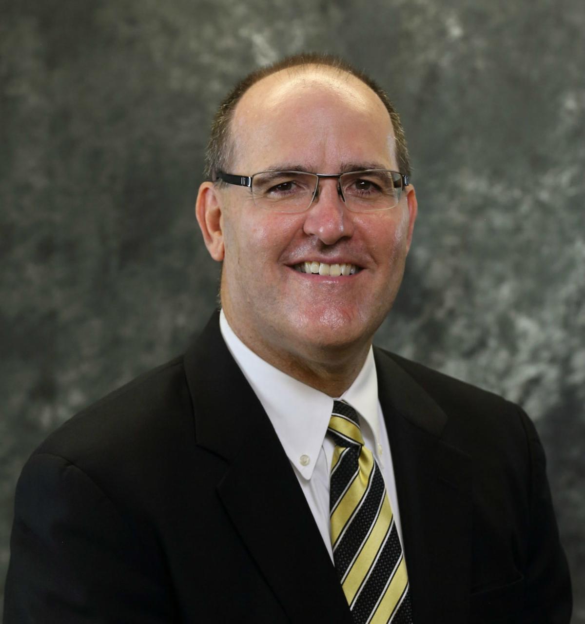 Anthony Clarke GTCC presidential finalist
