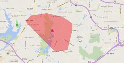 Greensboro Power Outage Map.Power Outage Reported In High Point Jamestown News Greensboro Com