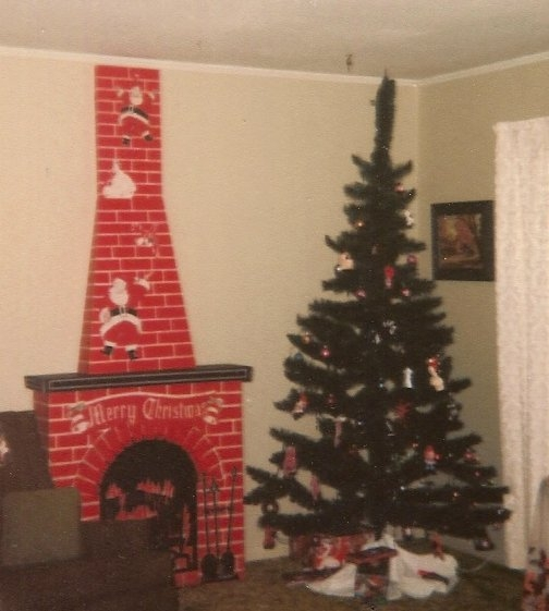 Cardboard Christmas Fireplace.Cardboard Fireplace Helped Suspend Doub Ts About Santa Claus