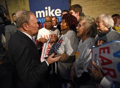 Election 2020 Bloomberg Winston-Salem (copy)