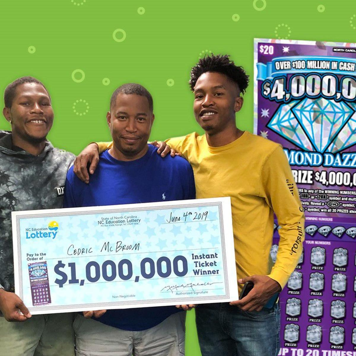 Greensboro man wins $1 million on scratch-off ticket   Local