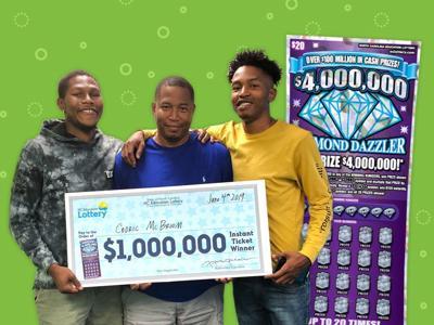 Greensboro man wins $1 million on scratch-off ticket   Local News