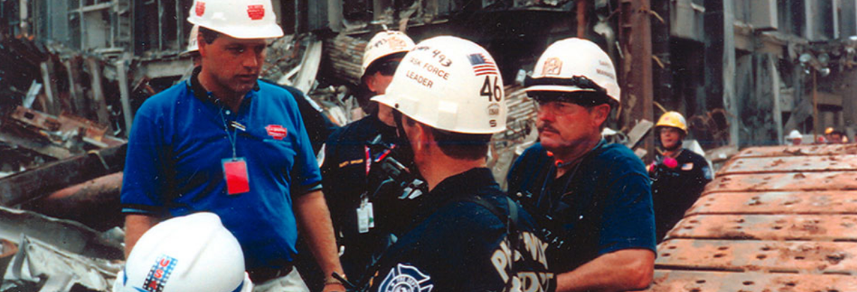 David Griffin in the early days at Ground Zero