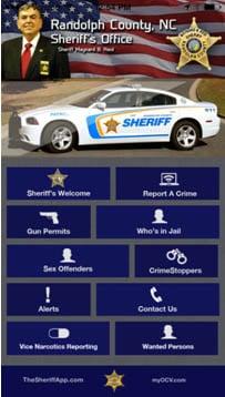 Randolph County Sheriff's Office creates smartphone app