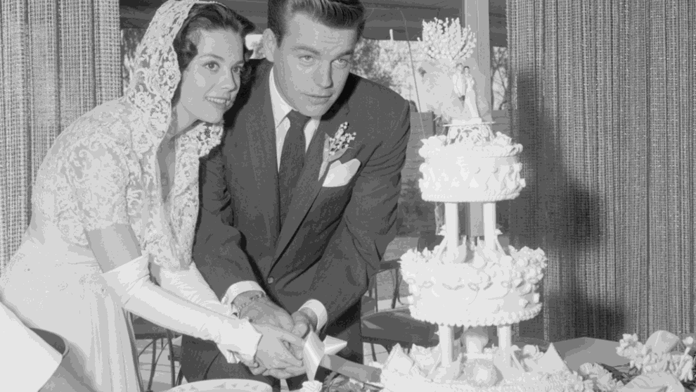 Check out photos from celebrity weddings in the 1950s and '60s