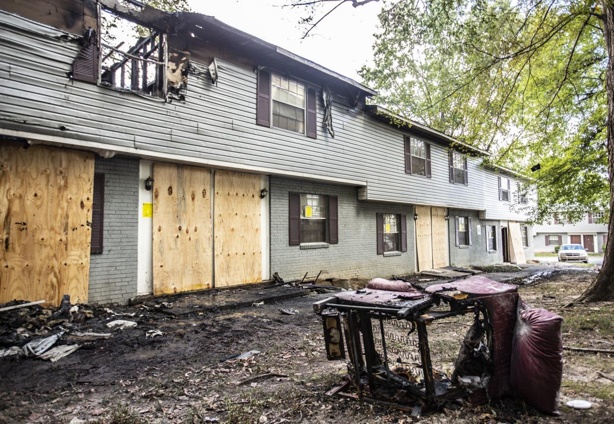 Fire at Hahn's Lane apartments deemed arson, authorities say