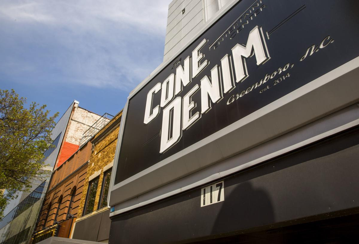 Cone Denim Entertainment Center Tickets