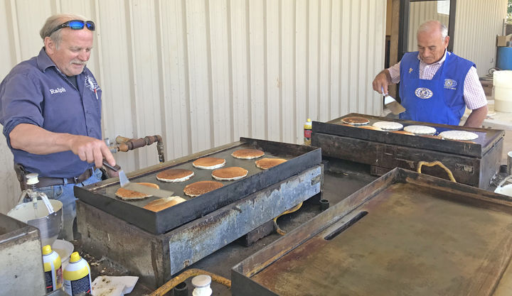 Kiwanis Club of Griffin holds annual Pancake Day