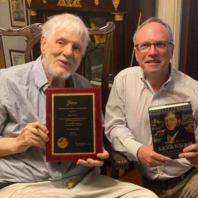Georgia Historical Society honors Duncan for lifetime achievement