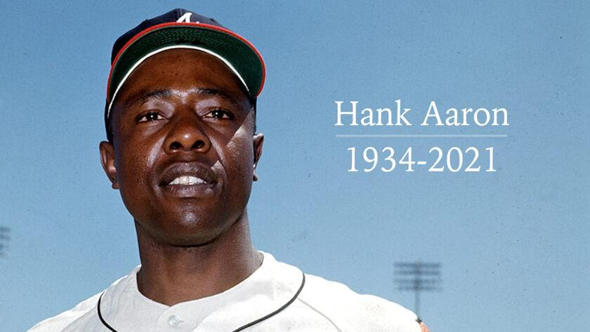 Hank Aaron, baseball's one-time home run king, dies at 86 | Sports |  griffindailynews.com