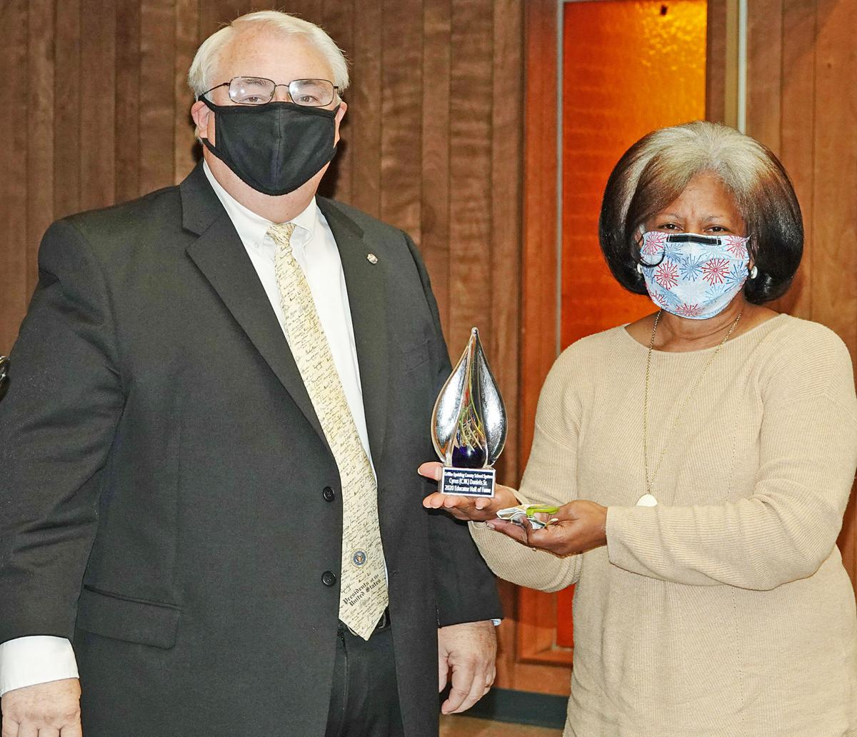 Three inducted into GSCS Educator Hall of Fame