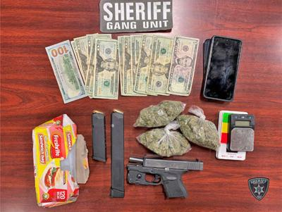 Bibb traffic stop leads to two arrests