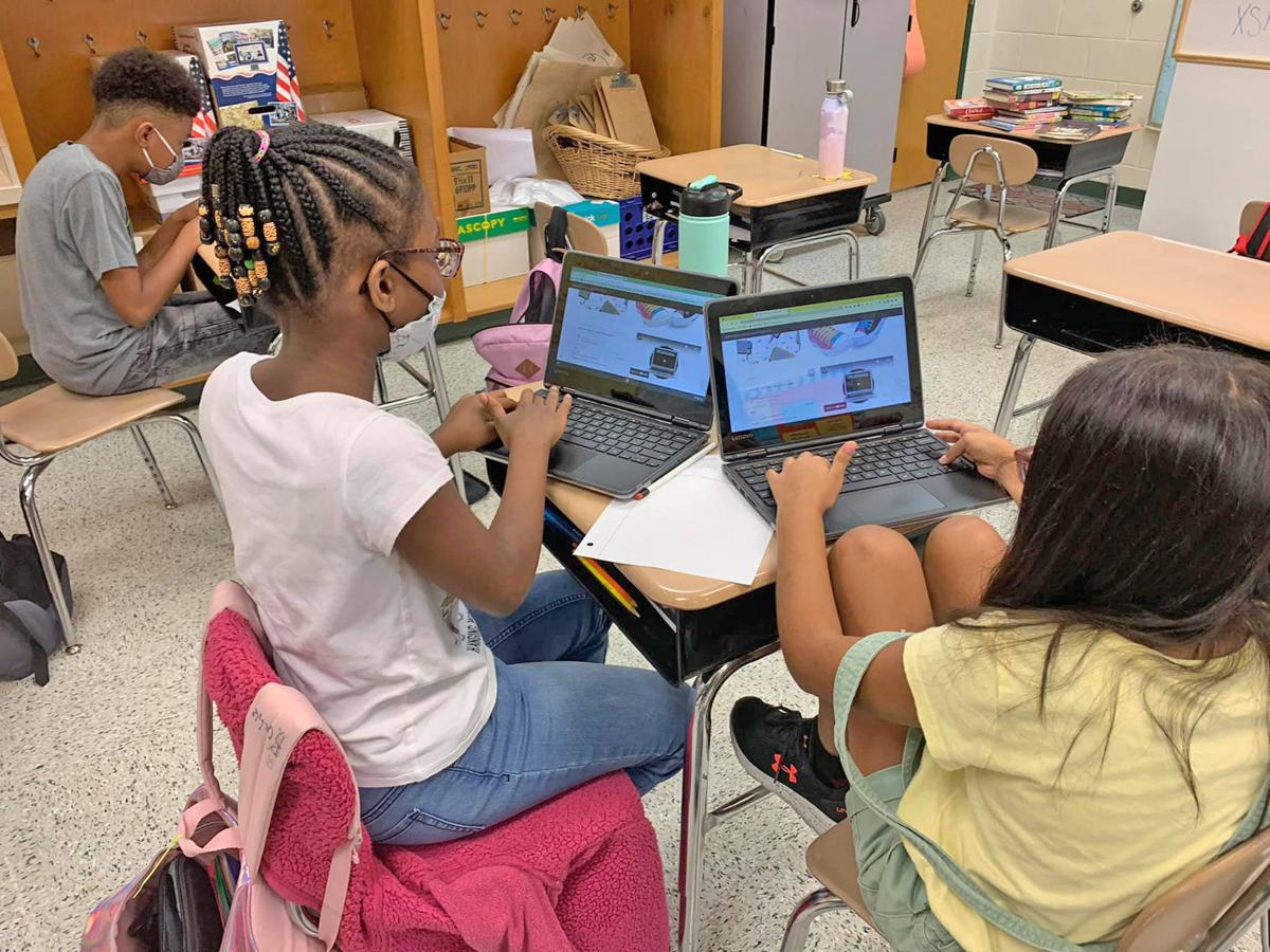 Moreland Road fifth graders dig into digital escape room