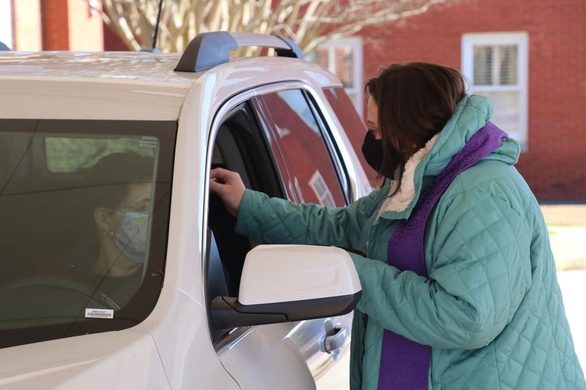 First Baptist holds drive-thru Ash Wednesday service