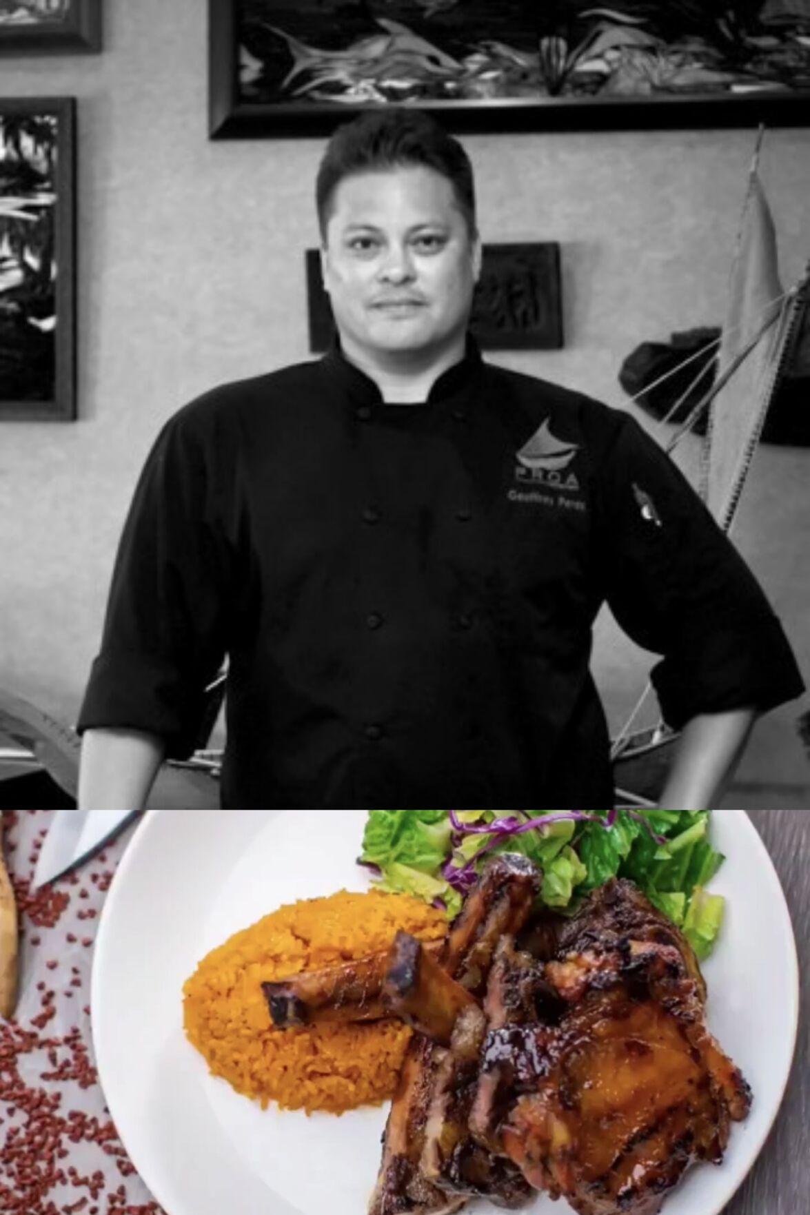 Chef Geoffrey Perez
