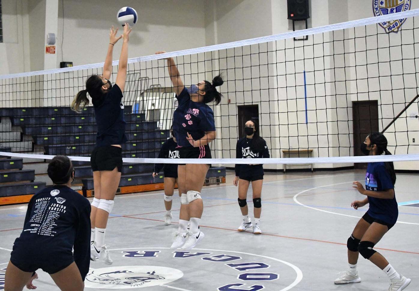 Academy girls volleyball