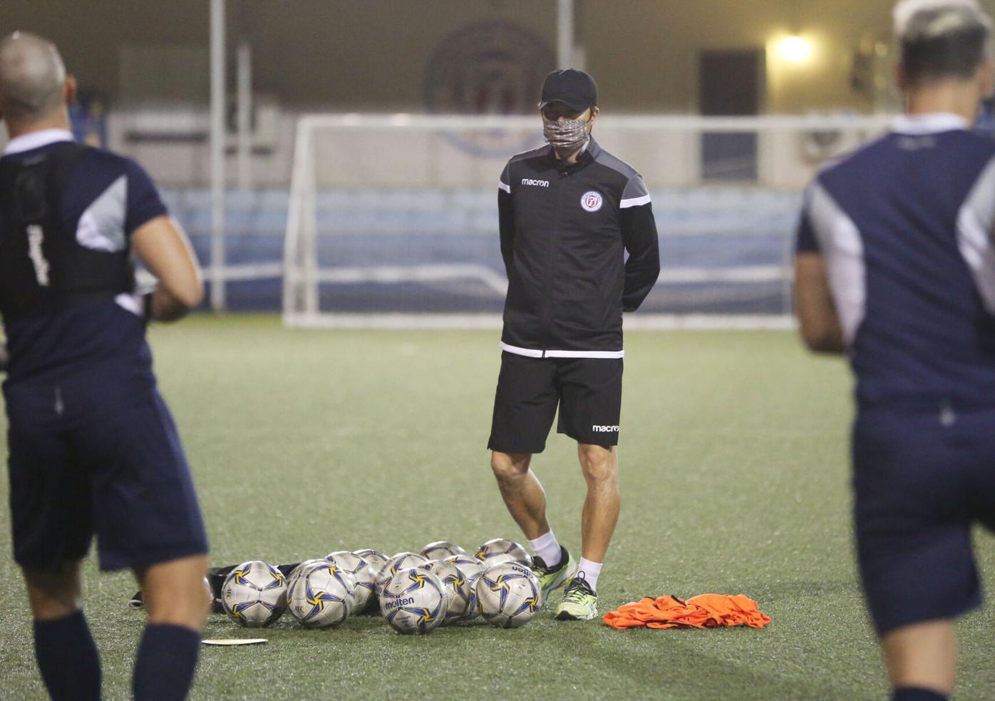 Coach Kim Matao