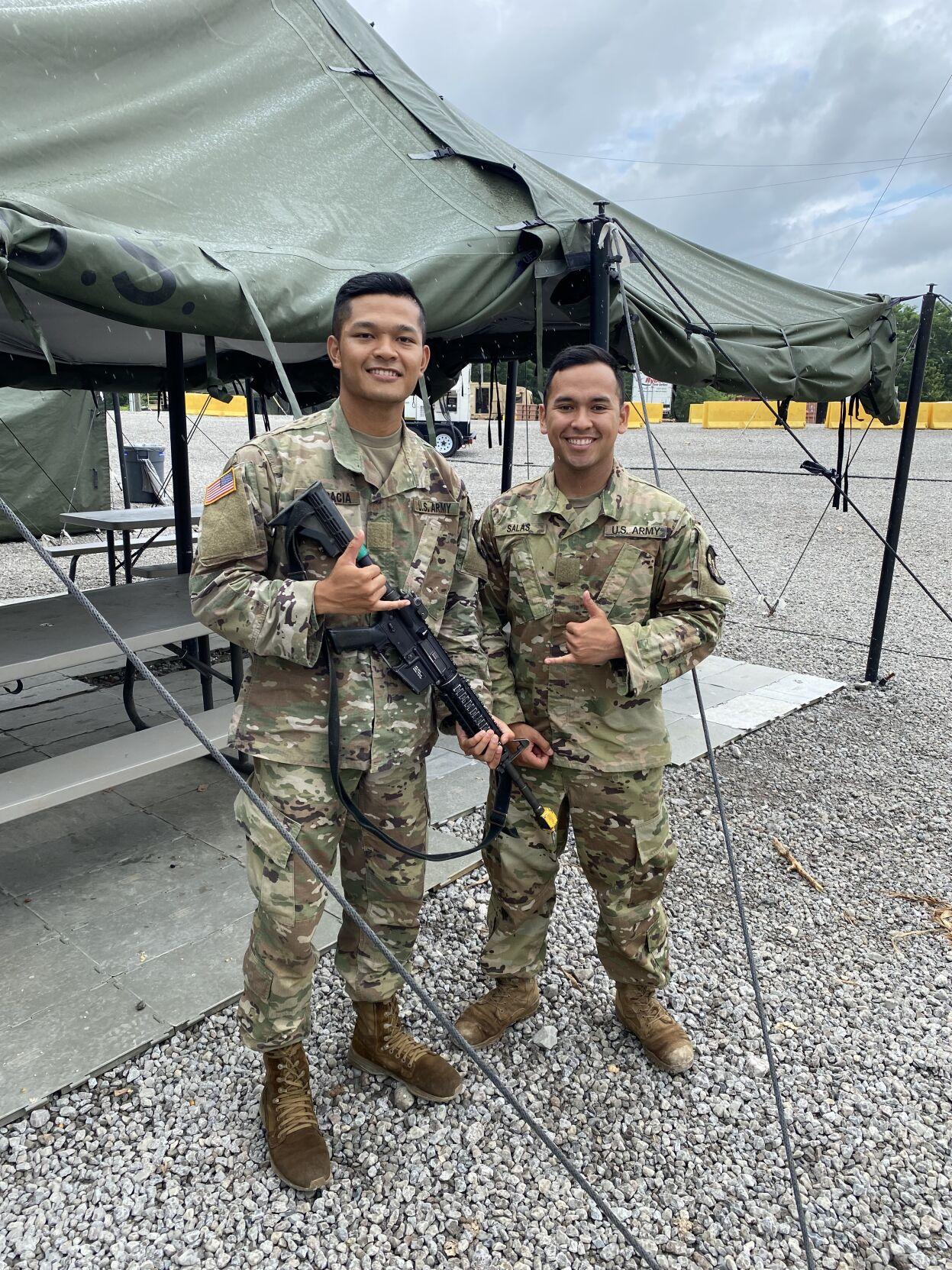 UOG ROTC cadets 4